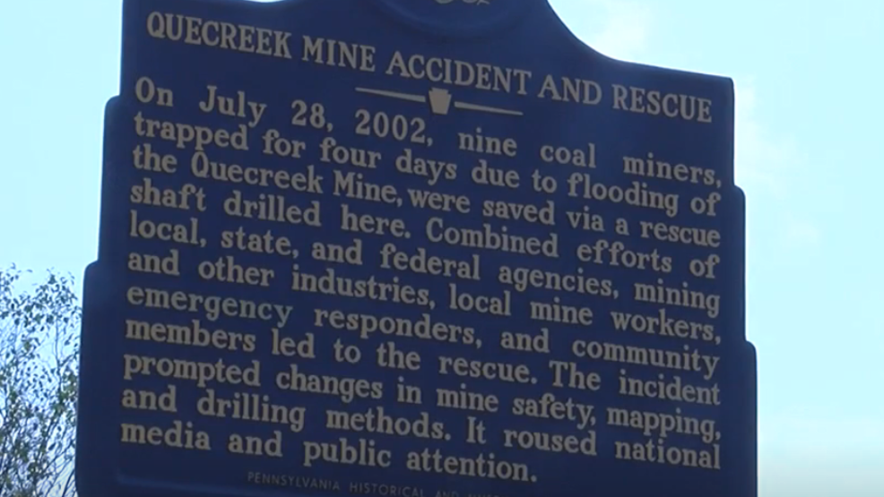 Remembering 17th anniversary of Quecreek Mine rescue in