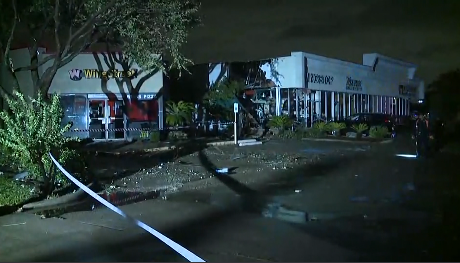 Tornado damage in Missouri City (KPRC/CNN)