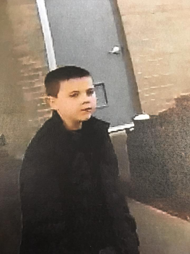 Connor was last seen barefoot, wearing a black sweatshirt and grey sweatpants. (Courtesy of Adair County Sheriff's Office)