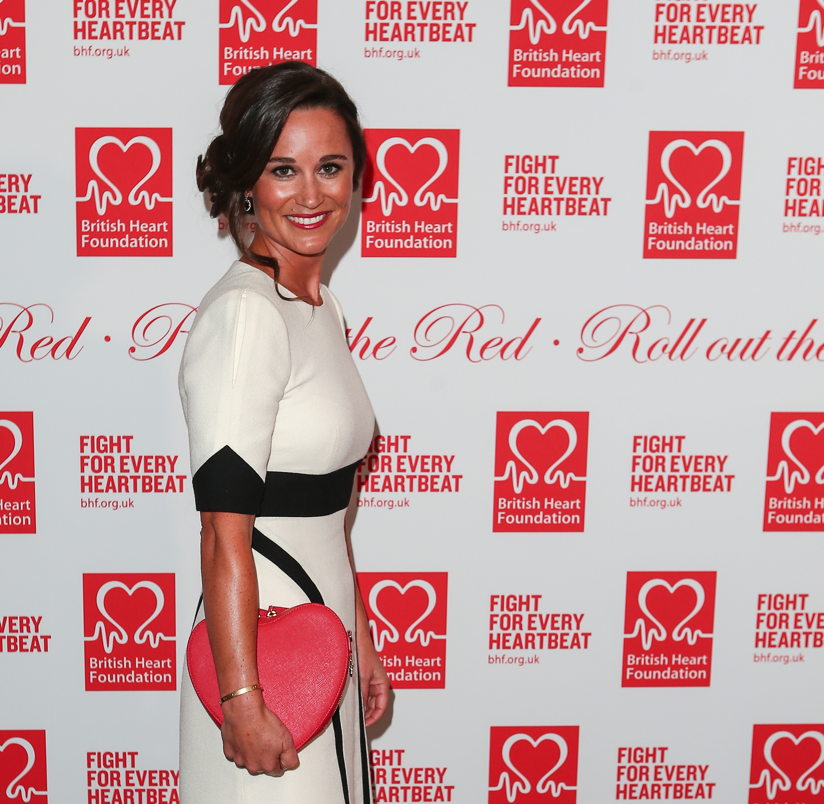 "Pippa Middleton arrives at the British Heart Foundation's ""Roll Out the Red"" fundraiser at The Savoy (WENN.com)"