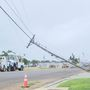 Severe storm damage leaves several without power in Pampa