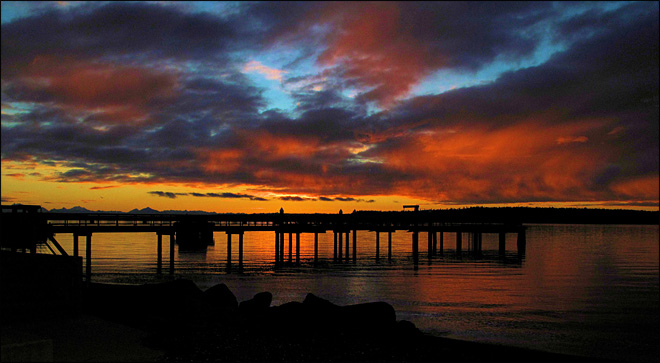 Sunrise at Point Hudson, Port Townsend. (Photo: YouNews contributor hipshot13)