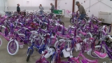 Community builds thousands of bikes for local children