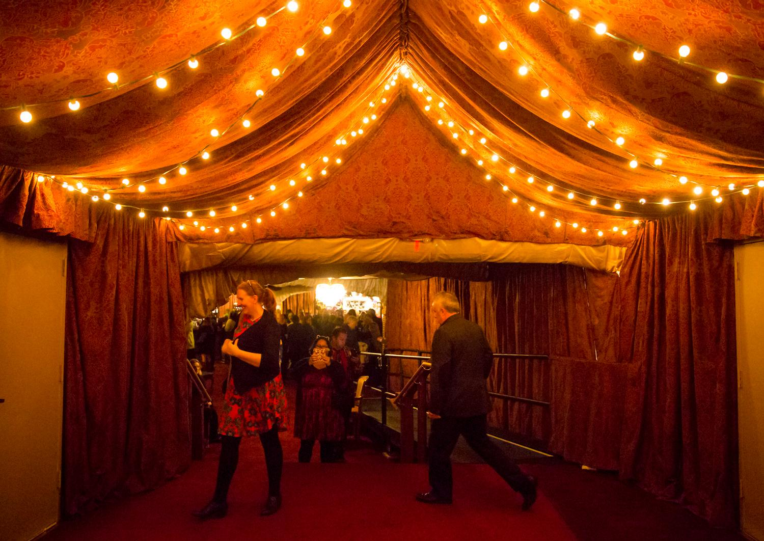 Teatro ZinZanni is a three-hour dinner show full of international cirque, comedy, cabaret, and a multi-course menu design by James Beard award-winning chef Jason Wilson. (Sy Bean / Seattle Refined)