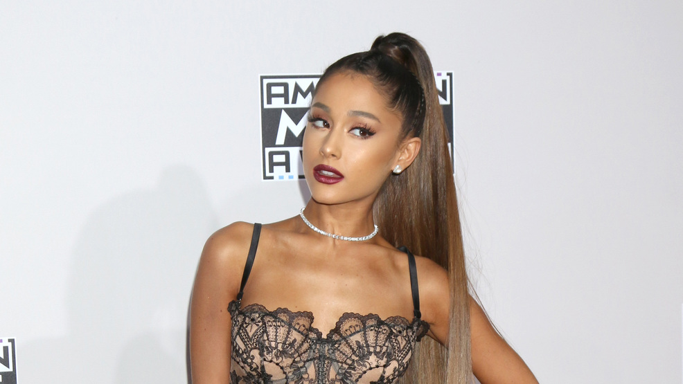 Ariana Grande treats her best friends to 'engagement' rings