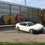 Train and Car Collision on Eleventh and Division