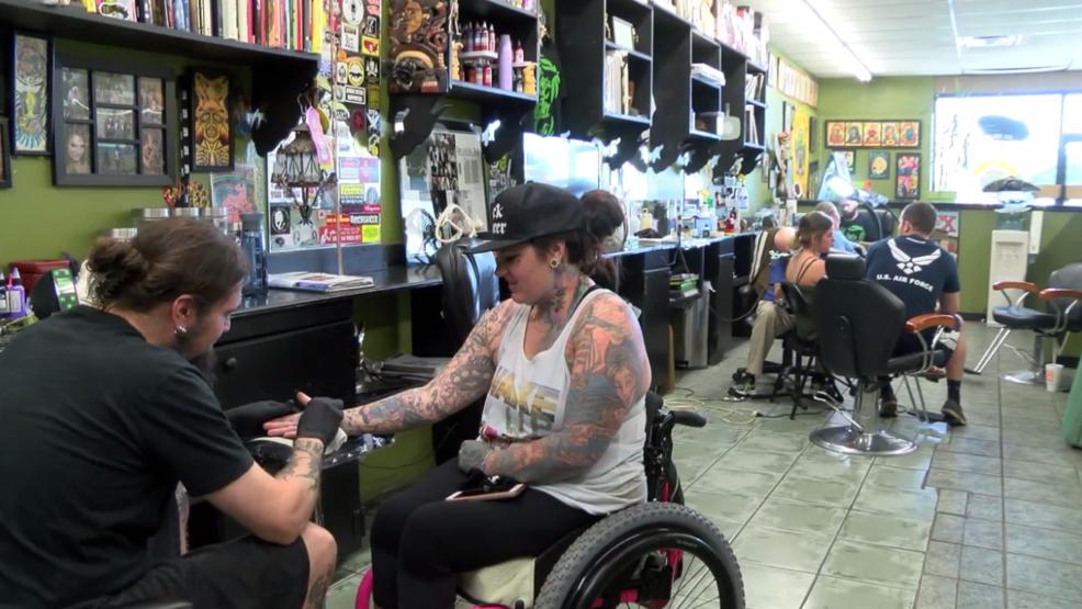 Amarillo tattoo shop aims to ease burden on art teachers for Tattoo shops amarillo tx