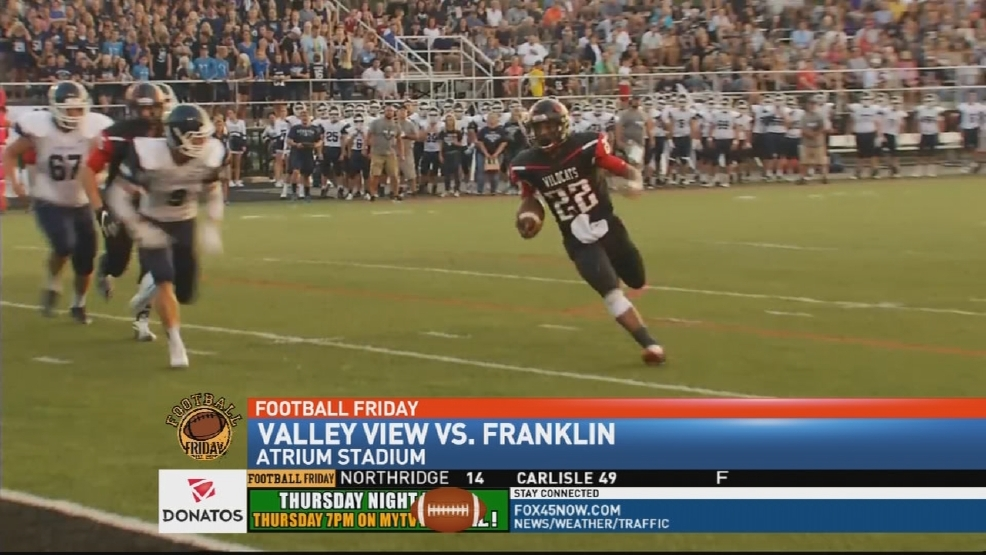 Franklin 5-0 for first time since 1989, beat Valley View 41-8