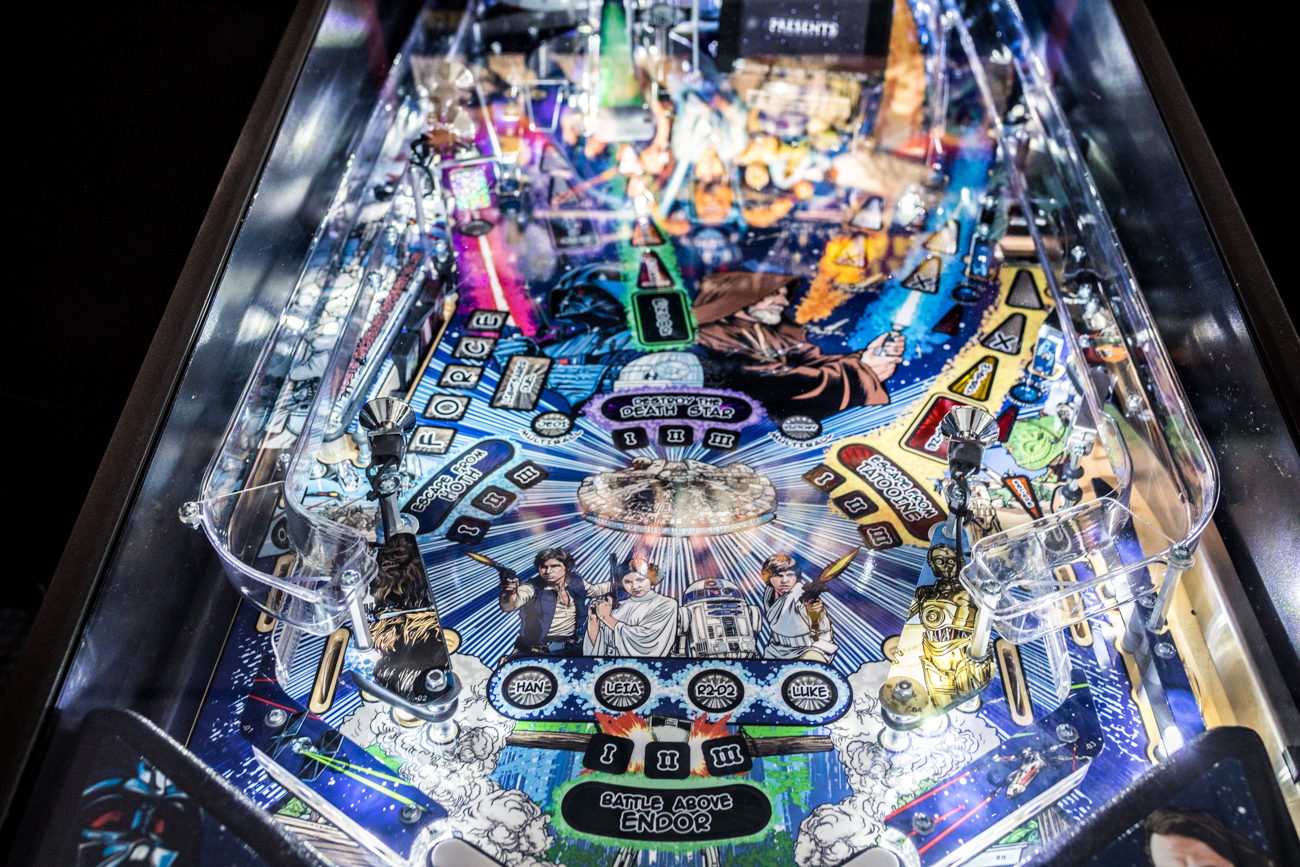 All the machines operate on free play by purchasing tickets for specific time slots. For ticketing info and hours of operation, call (513) 300-0152 or keep a lookout for updates and events (like their Cars & Coffee car shows) on Instagram and Facebook @pinballgarage. / Image: Catherine Viox // Published: 7.11.20