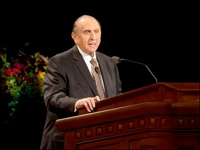 Monson remembered by leaders for his example, service and love (Photo: KUTV)