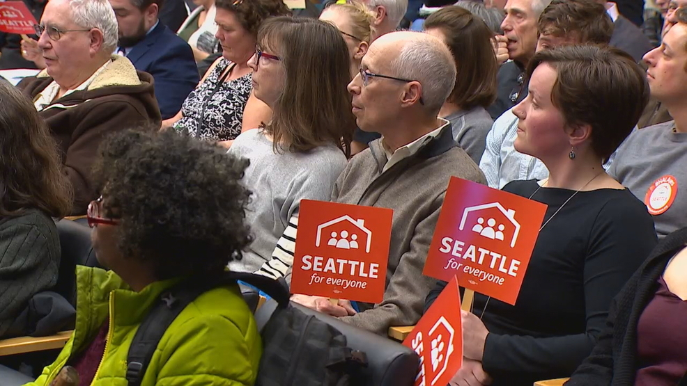 Public hearing shows strong divisions over Seattle's upzone