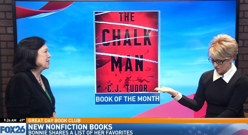 Bonnie's Book of the Month: The Chalk Man by C.J. Tudor