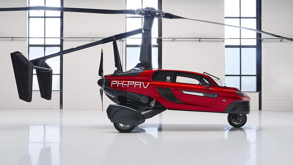 World\'s first flying car production model comes to life | KOMO