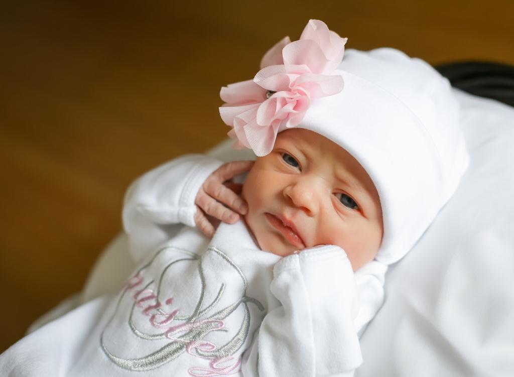 Paisley, our Baby of the Day for February 1, 2016. Photo courtesy of Palms West Hospital and Bella Baby Photography