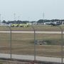 Fire reported on military plane lands at Myrtle Beach airport