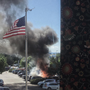 Car catches fire in Portland Ikea parking lot
