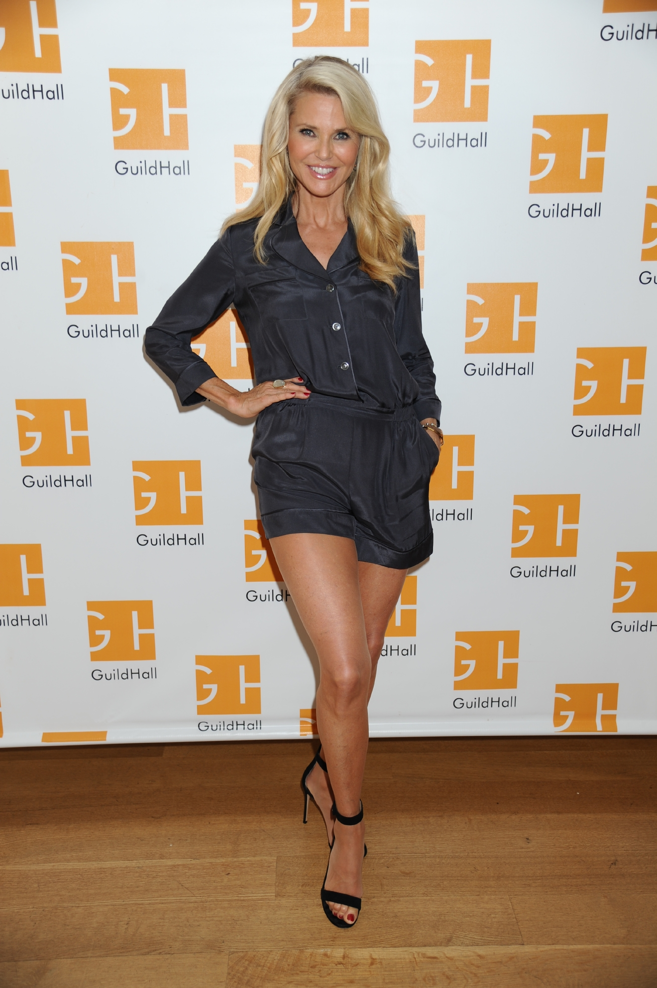 Hampton Comedy Show at Guild Hall  Featuring: Christie Brinkley Where: East Hampton, New York, United States When: 27 Aug 2016 Credit: Rob Rich/WENN.com