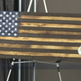 Peak Performance holds wooden flag dedication to honor America's veterans
