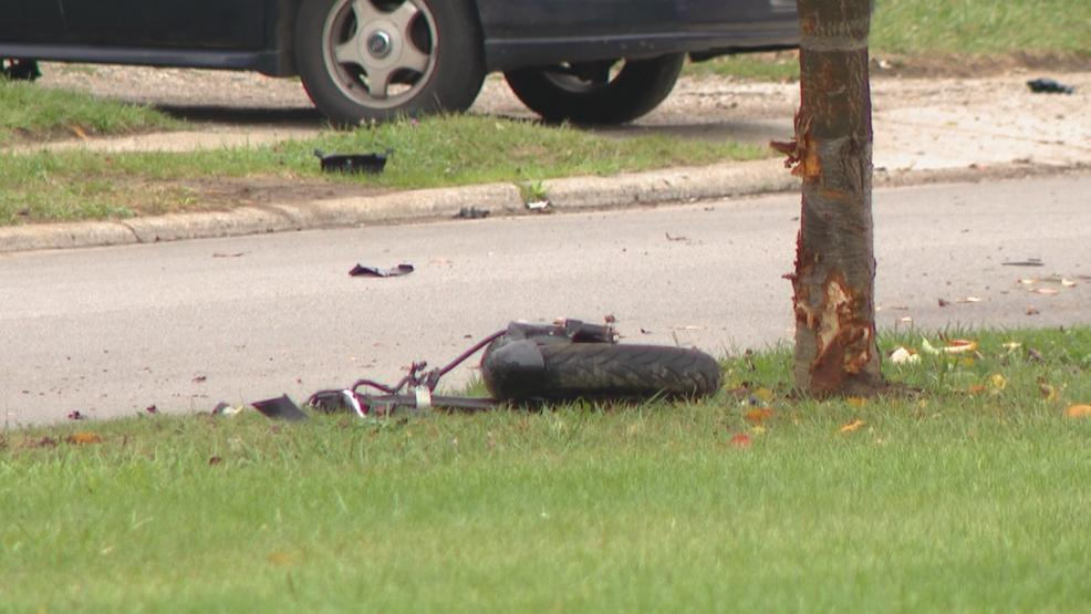 Police are investigating a deadly motorcycle crash in east Columbus Monday afternoon. (WSYX/WTTE)