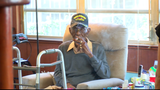 Nation's oldest living WW II veteran enjoying newly renovated Austin home