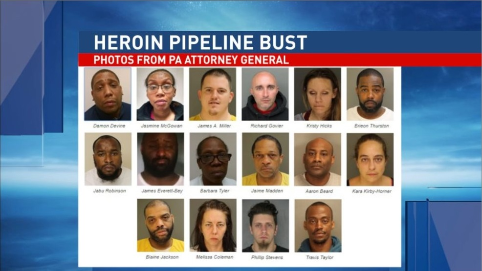 Officials bust heroin pipeline valued at $7 8M in Altoona