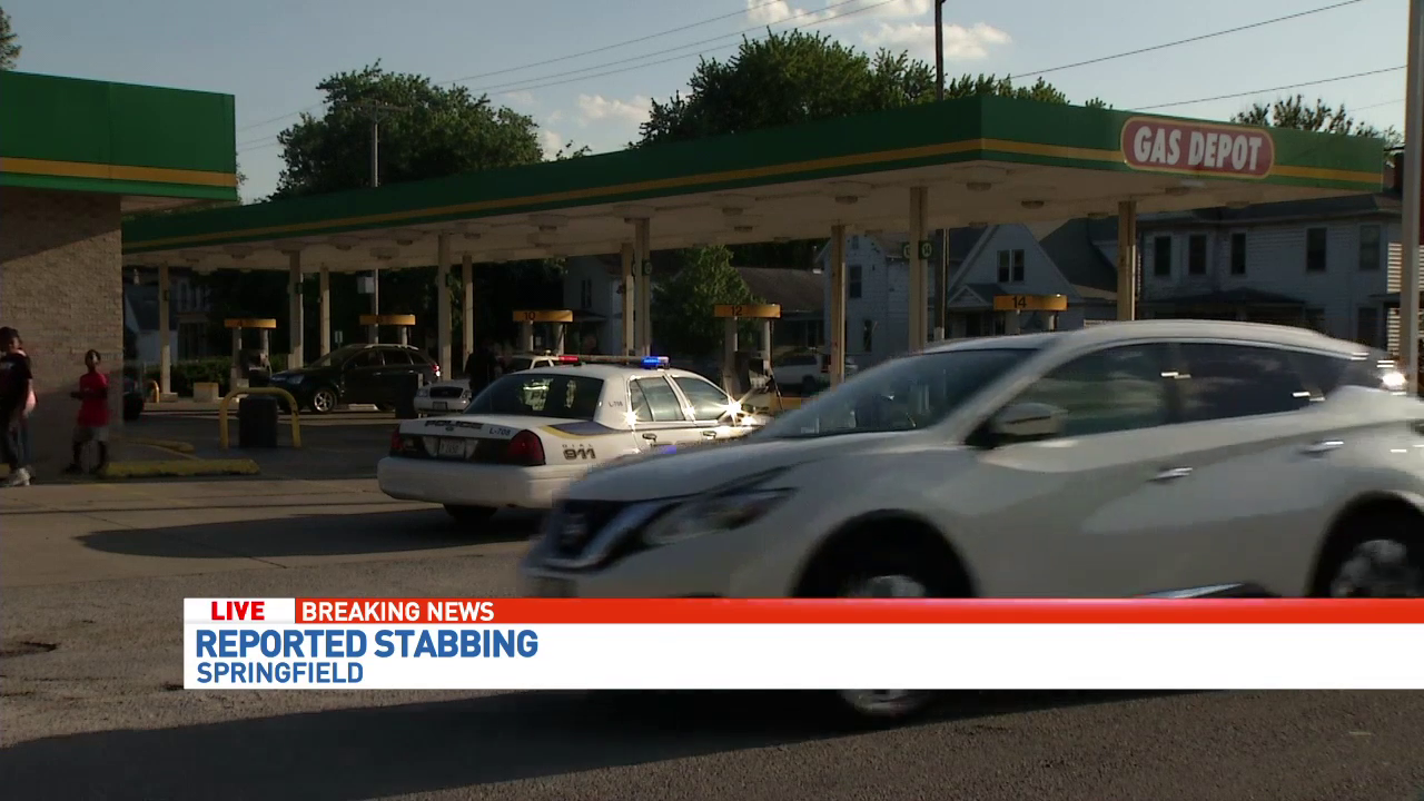 Law enforcement was at 9th and Division in Springfield around 6 p.m. Friday for a reported stabbing. (WICS)