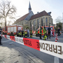 Police: Several dead after vehicle crashes into crowd in Muenster, Germany
