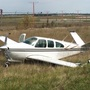 Small plane lands in ditch near South Bend airport