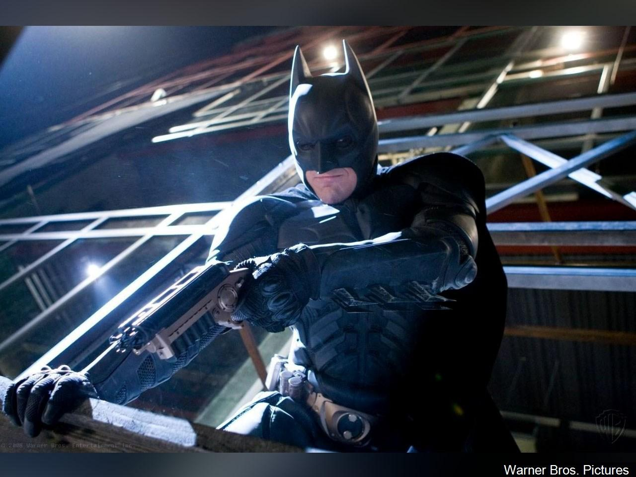 Christian Bale as Batman in 'The Dark Knight', 2008. (Photo: Warner Bros. Pictures via MGN Online)