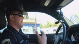 ISP ticket distracted driver for texting/driving and possession of marijuana