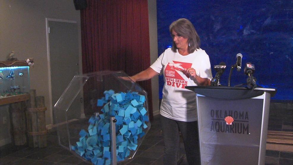 Oklahoma Aquarium announces Cody Bruton of Edmond as shark dive contest winner