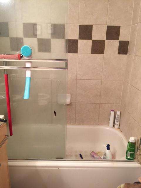 When we posted that our friends at Bath Fitter N.W. wanted to spruce up a viewer bathroom with a shower or tub upgrade - we weren't sure they response we'd get. But the photos have flooded in, all requesting that they be picked for Bath Makeover! Take a look at these viewer photos, and let us know who you think deserve the #BathUpgrade! (Image: Michelle Cardenas)