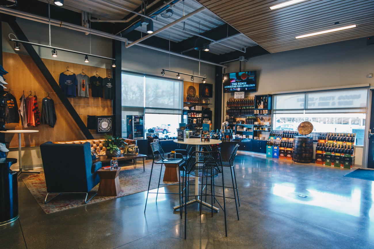 New Riff has been developing spirits since it opened in 2014. Aside from visiting to try out the seasonal cocktails, you can also tour the facility or plan an event in one of its various venue spaces that can accommodate anywhere from 50-200 guests. / Image: Catherine Viox // Published: 3.25.19