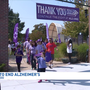 Hundreds show support at the Walk to End Alzheimer's in downtown Kalamazoo