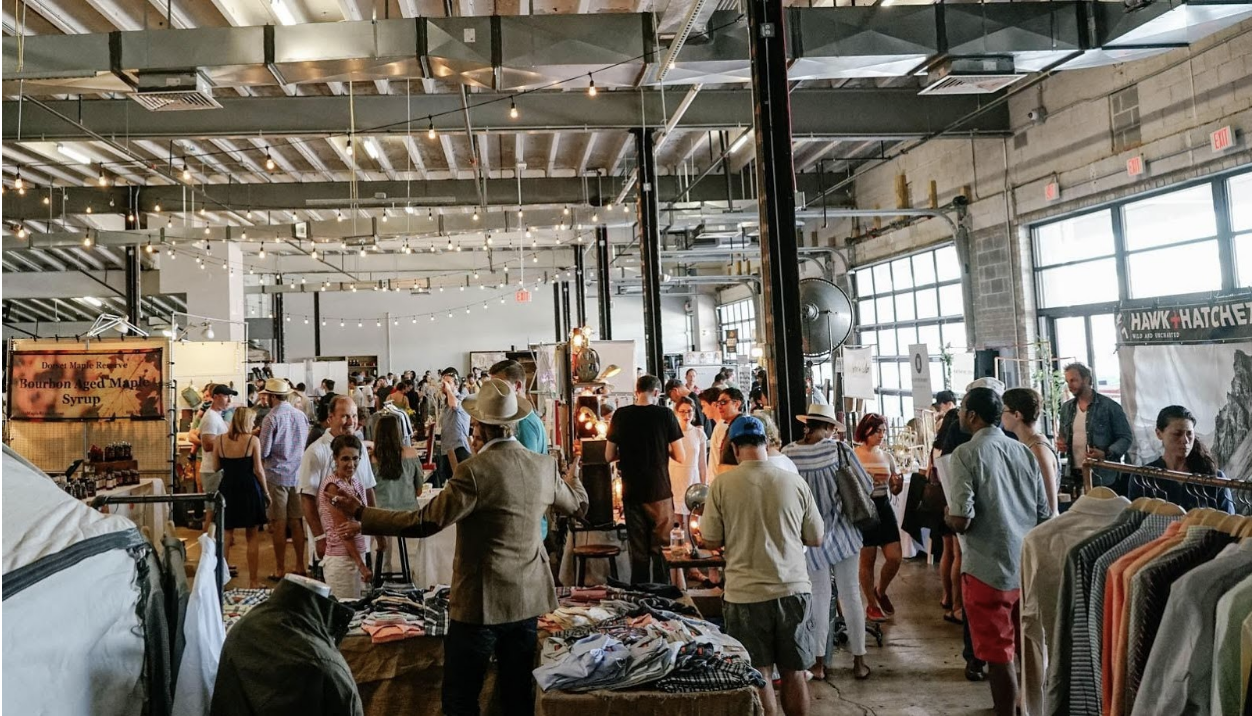 60 innovative brands will be under one roof for a pop-up flea market featuring the best of food and fashion. (Image: Courtesy American Fields Market)