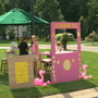 Spencerport girls build lemonade stand to help children's hospital