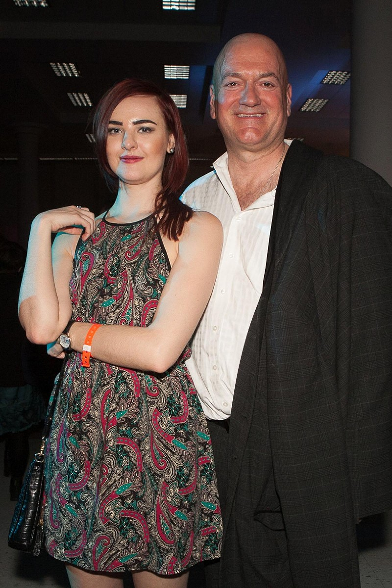John and Jessie party the night in McCaw Hall at the SIFF Opening Night Gala. (Image: Joshua Lewis / Seattle Refined)