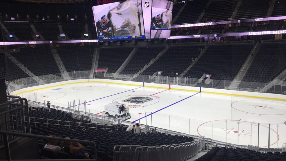 Hockey Fans Invited To Check Out T Mobile Arena Ksnv