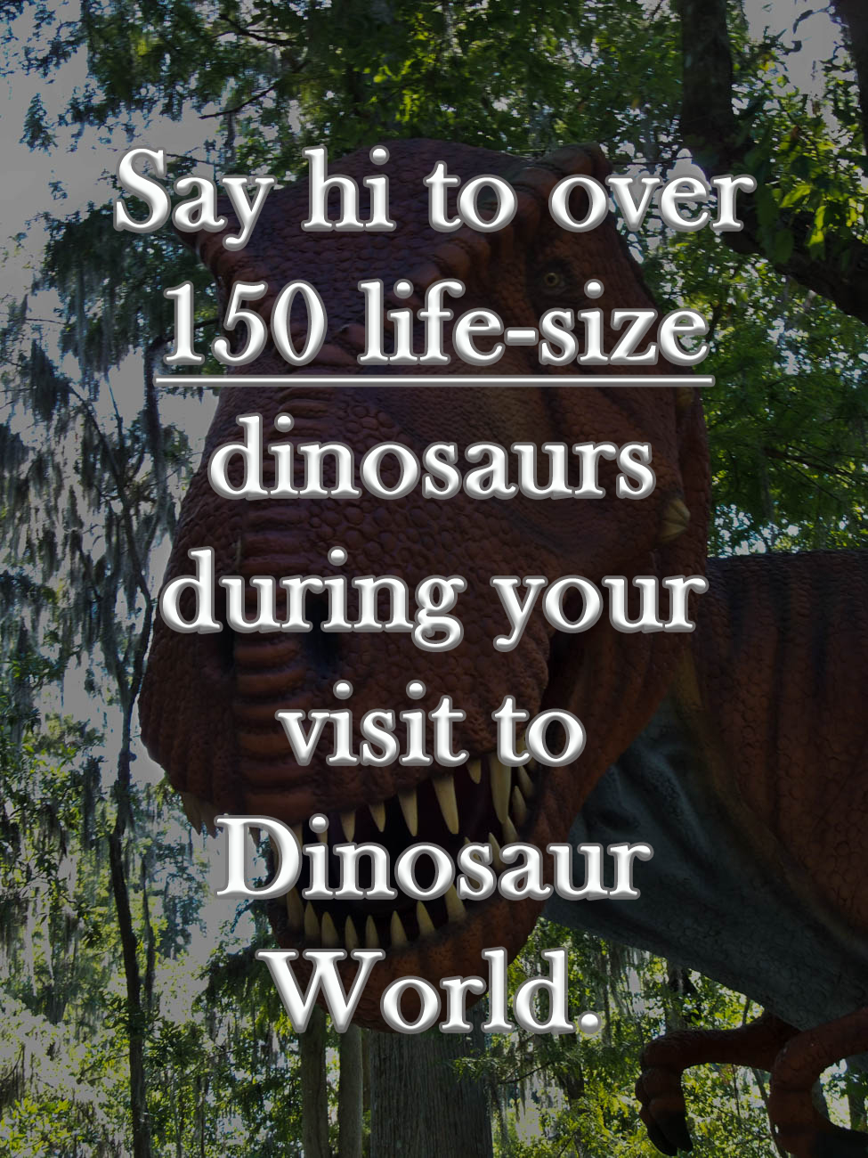 ADDRESS: 711 Mammoth Cave Road, Cave City, KY (42127) / Background image courtesy of Dinosaur World // Published: 7.8.19