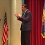 Idaho congressman Raul Labrador faces angry crowd at town hall