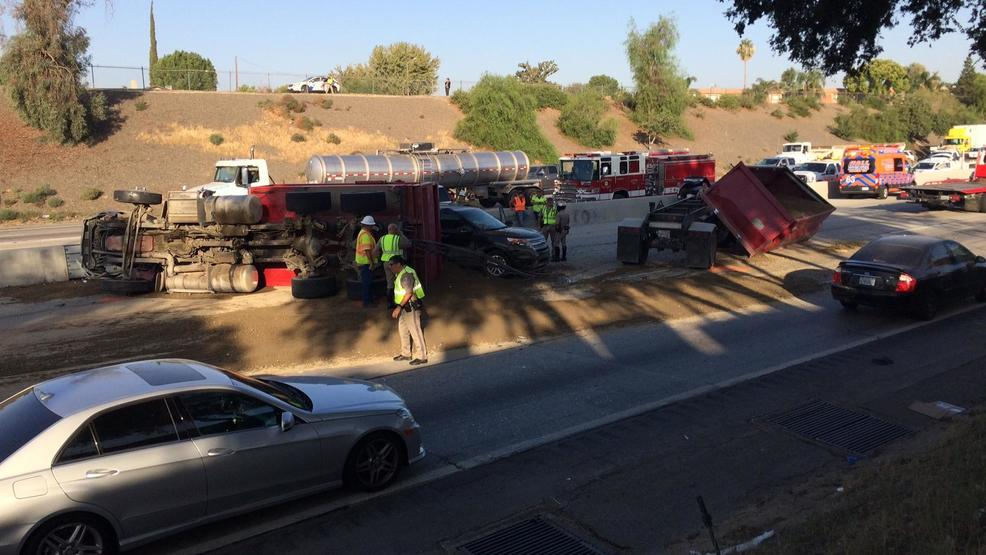 Big rig, other vehicles involved in crash that snarls 99 ...