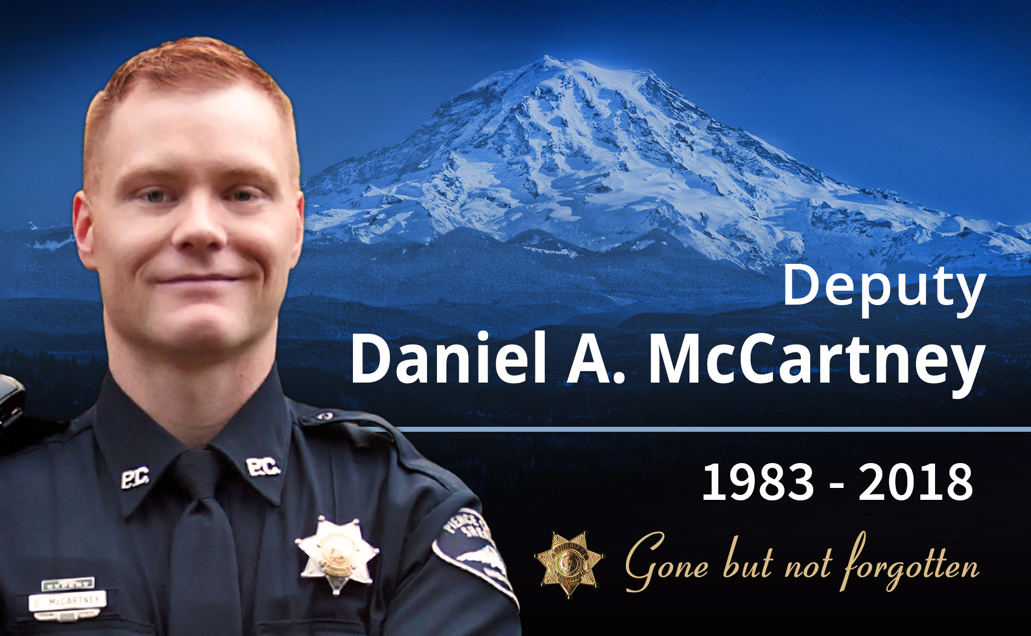 Deputy Daniel McCartney. (Photo: Pierce County Sheriff's Department)<p></p>