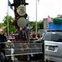 Display at Holley parade sparks controversy