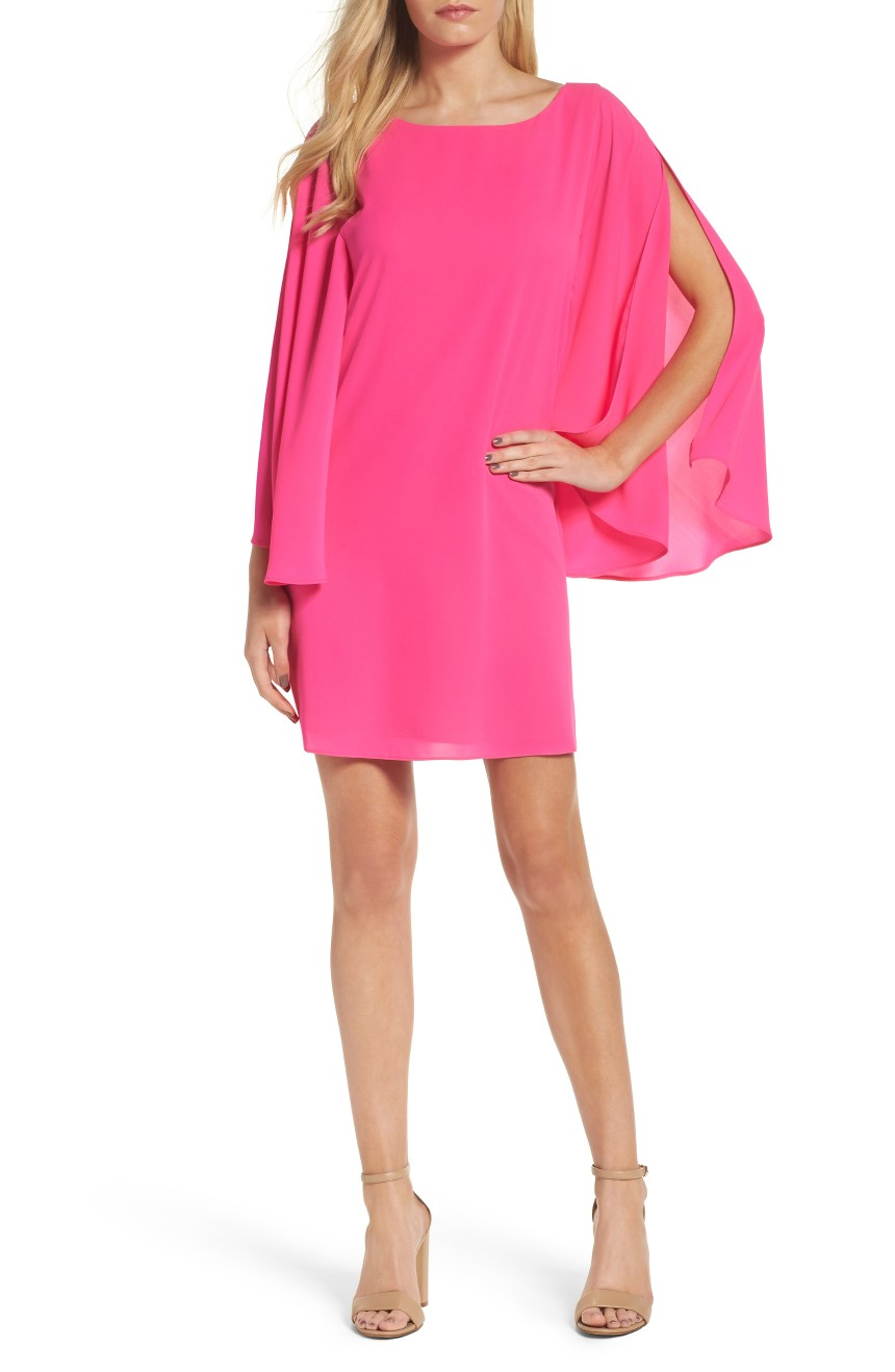 Butterfly Sleeve Shift Dress, $139                                    (Nordstrom)