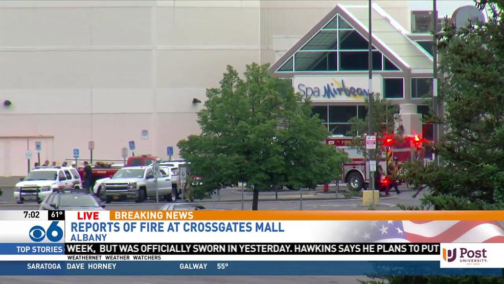 Early morning fire at Spa Mirbeau at Crossgates Mall | WRGB