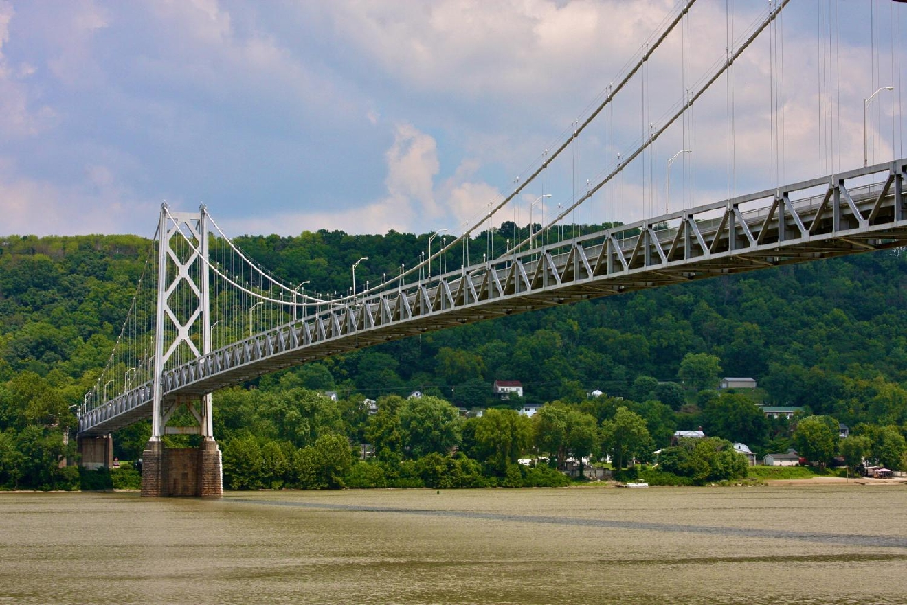 I mean... sure, Cincinnati has its fair share of picturesque Ohio River views. But then there's Maysville, Kentucky. (Be-yootiful!!) Located just over an hour east of Downtown Cincy, Maysville is a cutesy town chock-full of charm. Also, it's the birthplace of siblings Rosemary and Nick Clooney. / Image: Molly Paz