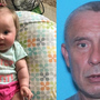 Amber Alert: Virginia baby abducted at knifepoint by her father, a registered sex offender