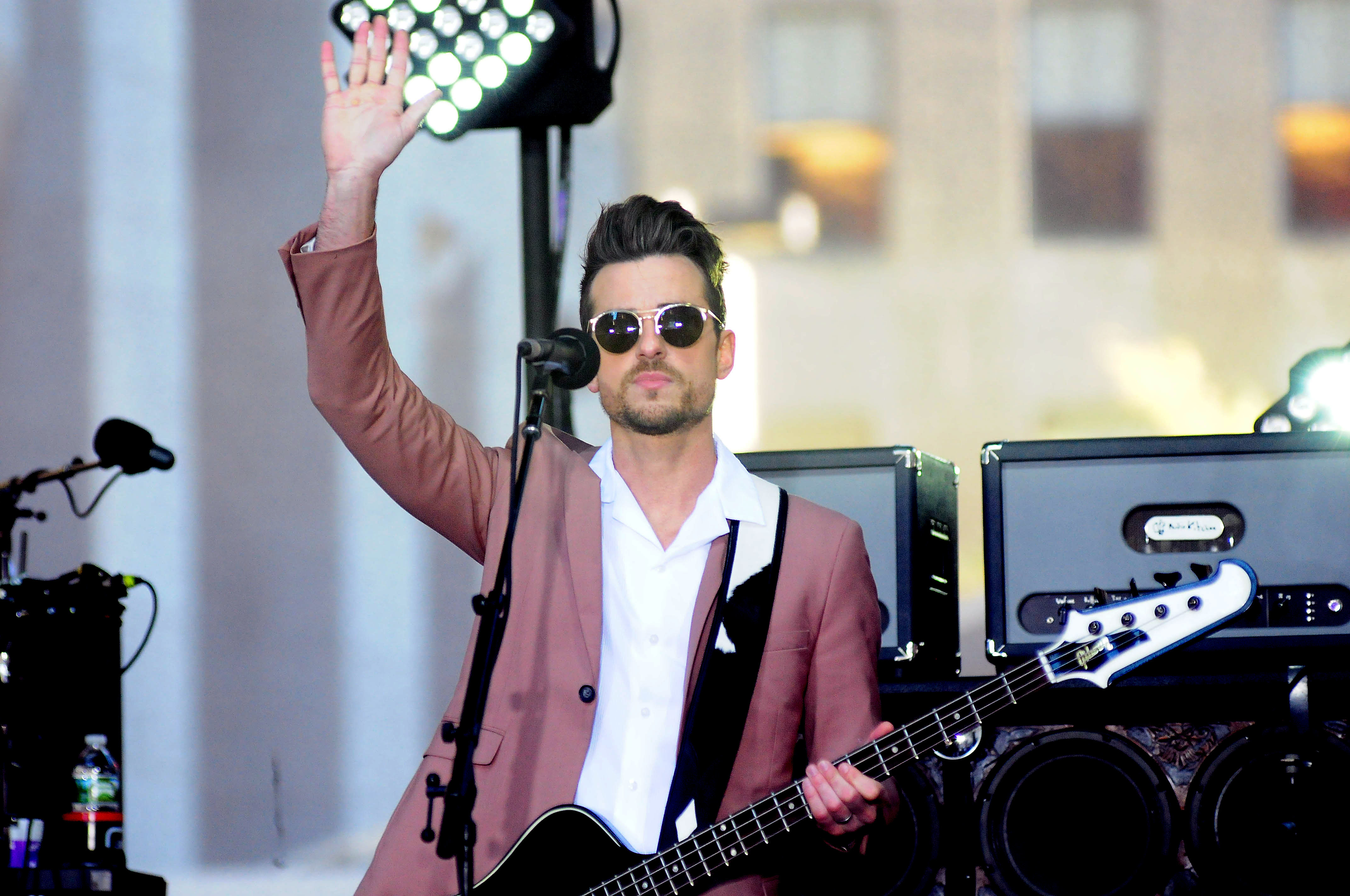 Kings Of Leon performing live on NBC's Today show as part of the concert series  Featuring: Kings Of Leon Where: NY, New York, United States When: 14 Oct 2016 Credit: Dan Jackman/WENN.com