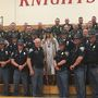 Police show up at graduation to support daughter of officer killed in the line of duty