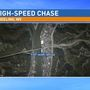 High-speed chase ends in crash on Fort Henry Bridge in Wheeling